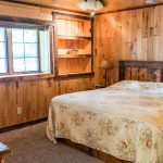 Northwoods Private Vacation Home lower walk out level king bedroom