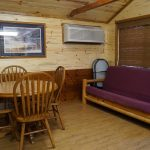 Cabin 5 Dining area and seating area