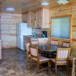 Cabin 7 dinning and kitchen area