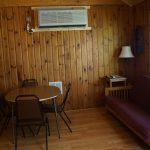 Cabin 2 dinning room area futon