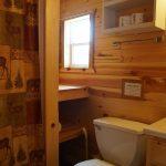 Cabin 2 bathroom shower