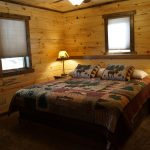 Eagle Trail lower level King bedroom lake view side