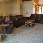 Eagle Trail main level Livingroom veiw of lake