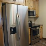 Eagle Trail Kitchen Refrigerator and stove