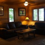 Eagle Trail lower level living room lake view
