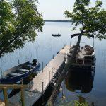 Eagle Trail Pontoon and boat.